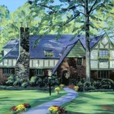 Home Portraits Scarsdale NY, House Portraits
