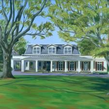 Home Portraits Scarsdale Womens Club, House Portraits